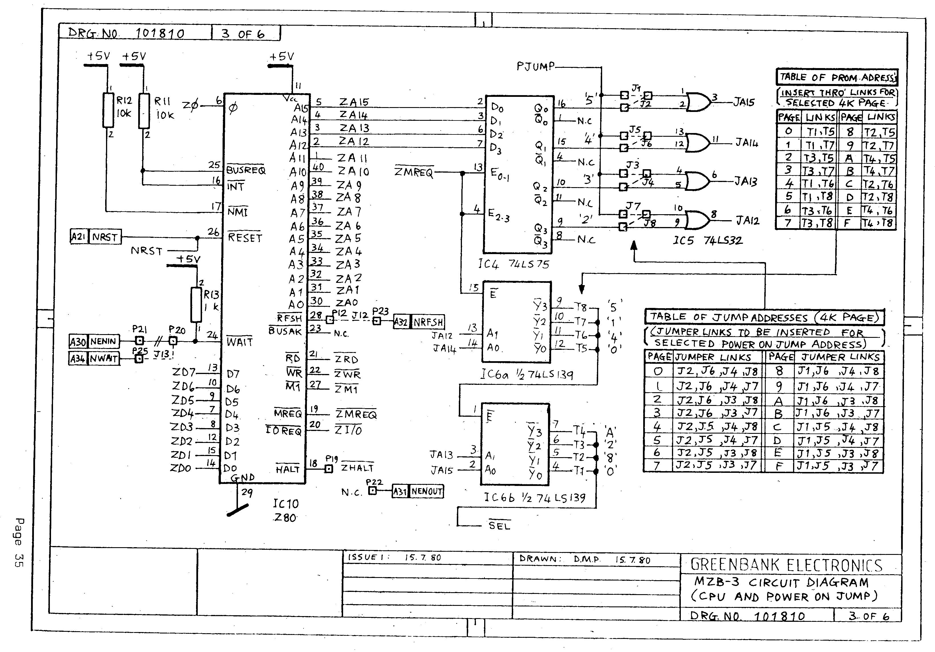 Terrific Mzb 3 Buffered Z80 Cpu Kemitron Board Wiring 101 Photwellnesstrialsorg